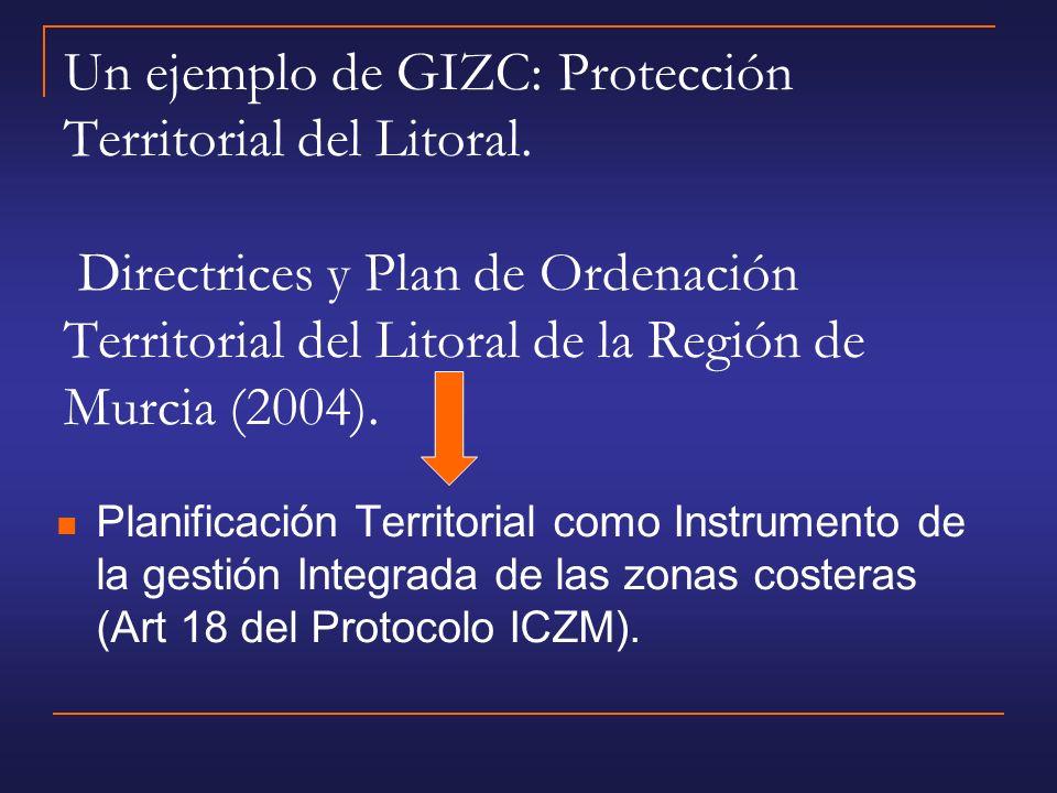 Un ejemplo de GIZC: Protección Territorial del Litoral