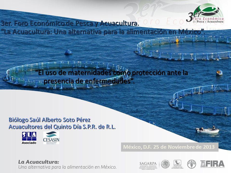 3er. Foro Económico de Pesca y Acuacultura.
