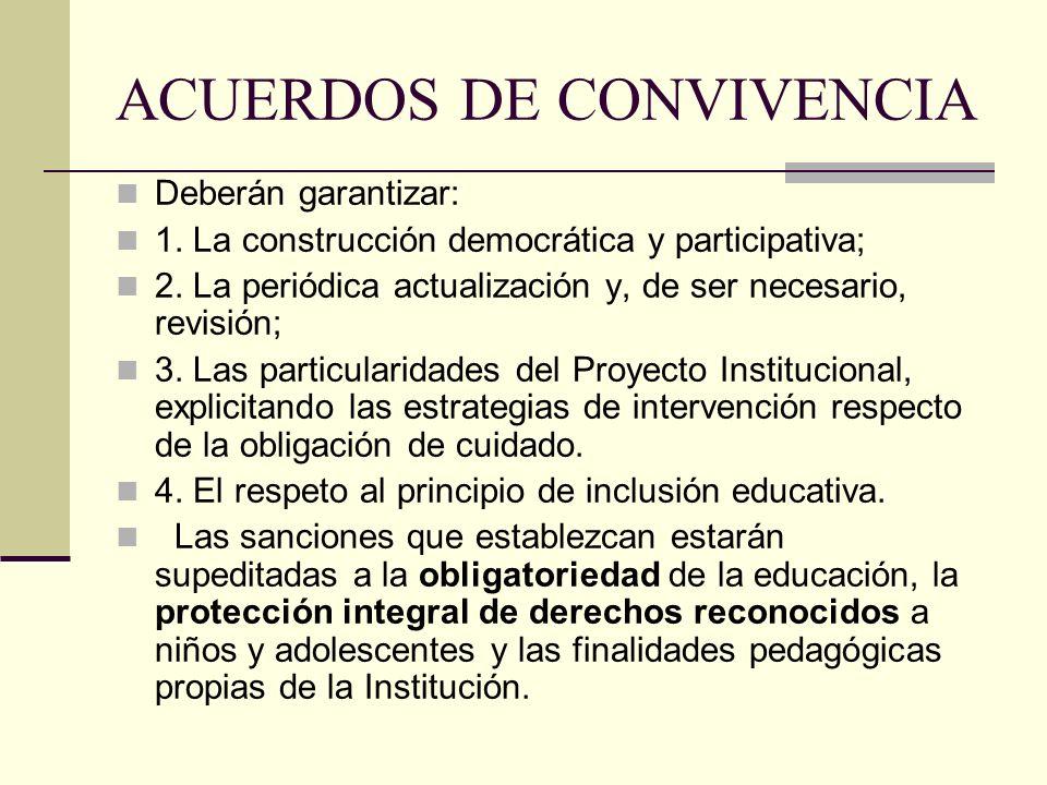 ACUERDOS DE CONVIVENCIA