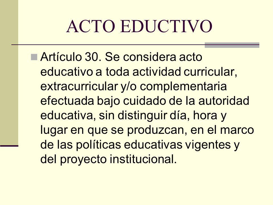 ACTO EDUCTIVO