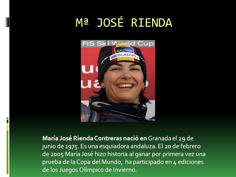 Mª JOSÉ RIENDA