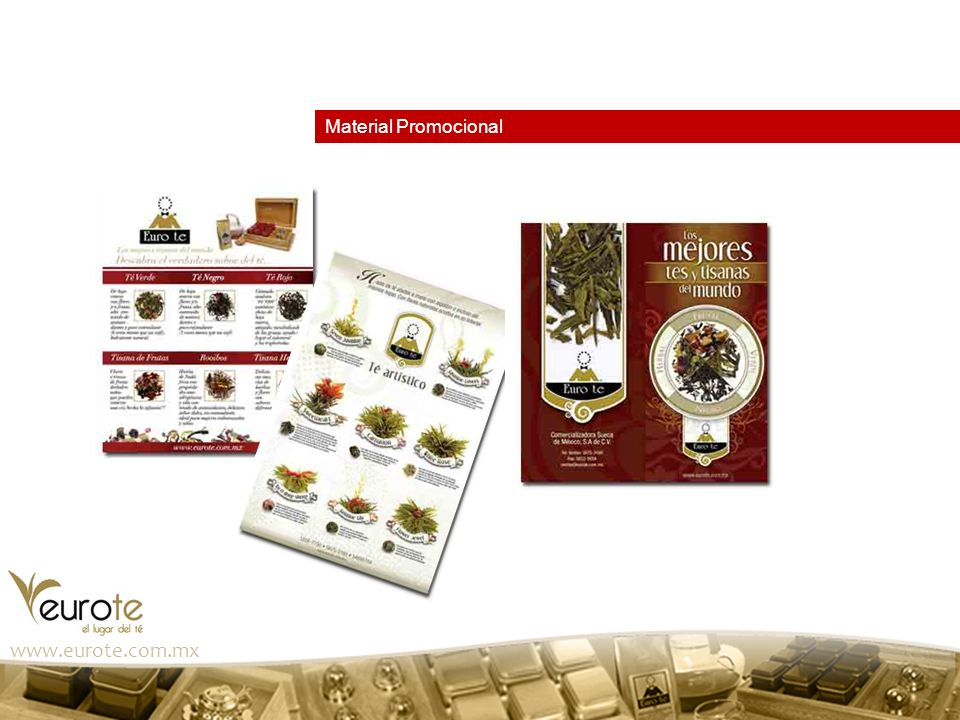 Material Promocional www.eurote.com.mx