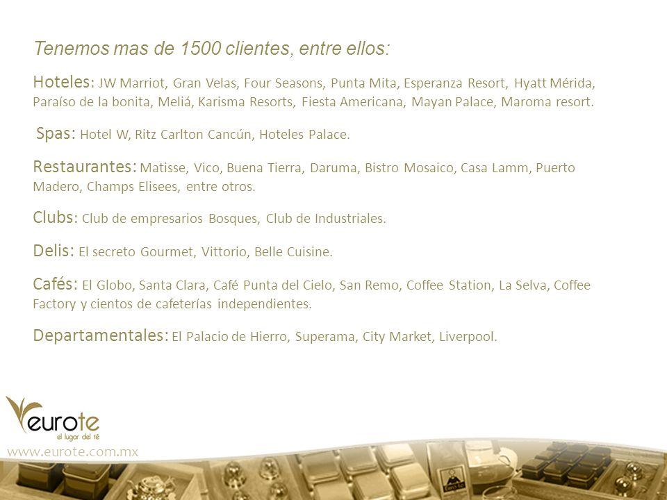 Tenemos mas de 1500 clientes, entre ellos: