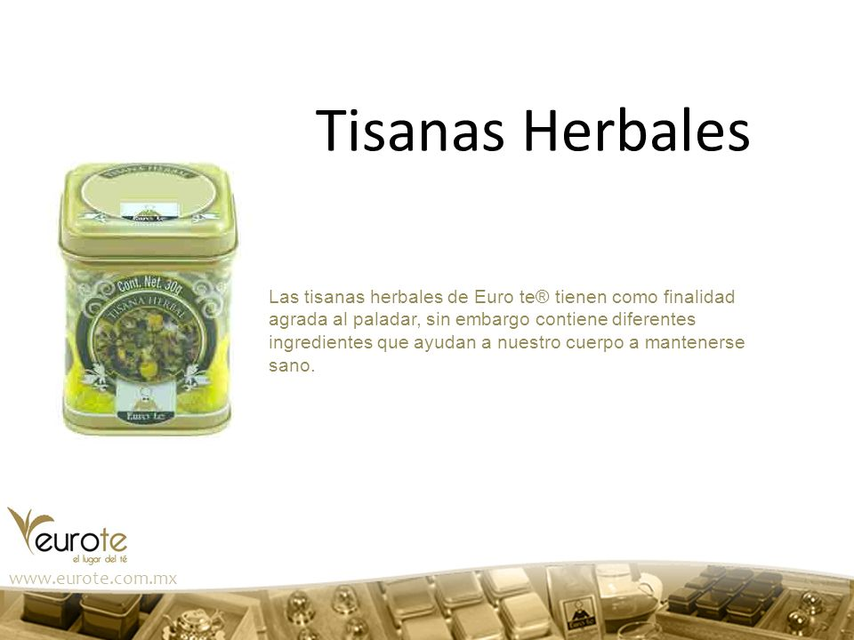 Tisanas Herbales