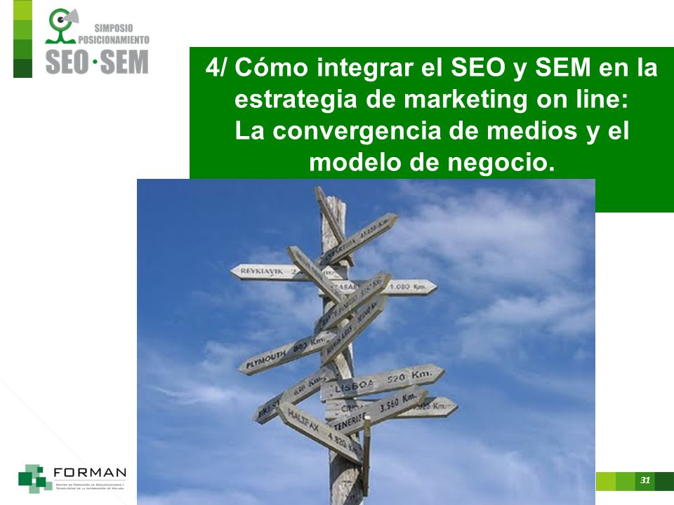 4/ Cómo integrar el SEO y SEM en la estrategia de marketing on line: