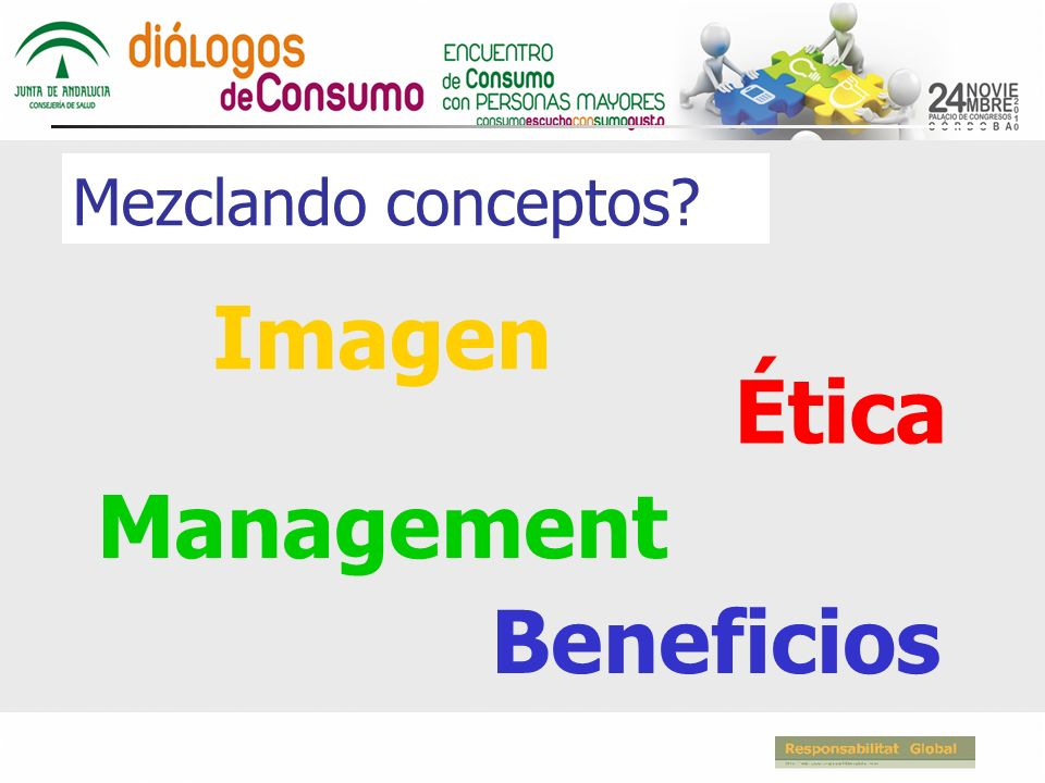 Mezclando conceptos Imagen Ética Management Beneficios