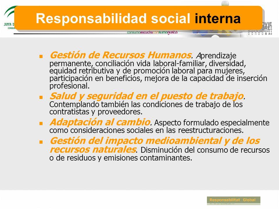 Responsabilidad social interna
