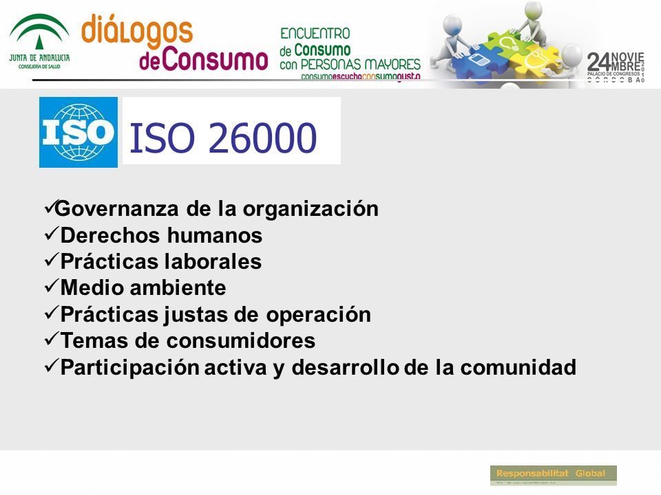 ISO 26000 Governanza de la organización Derechos humanos