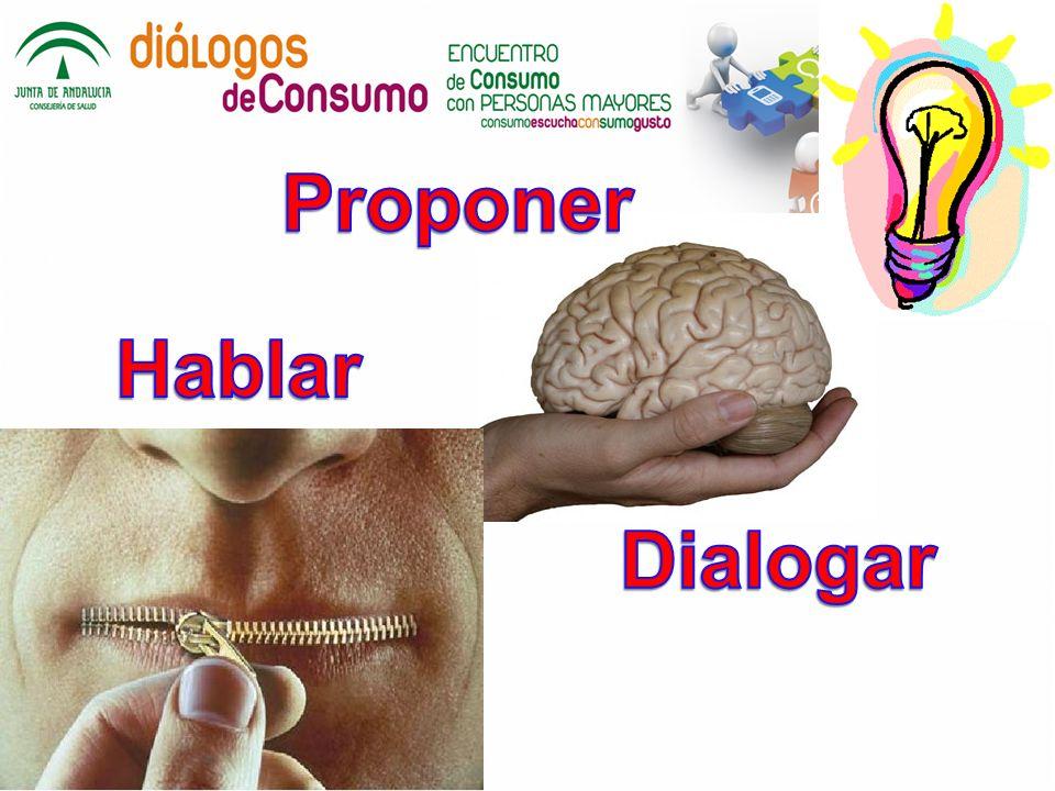 Proponer Hablar Dialogar