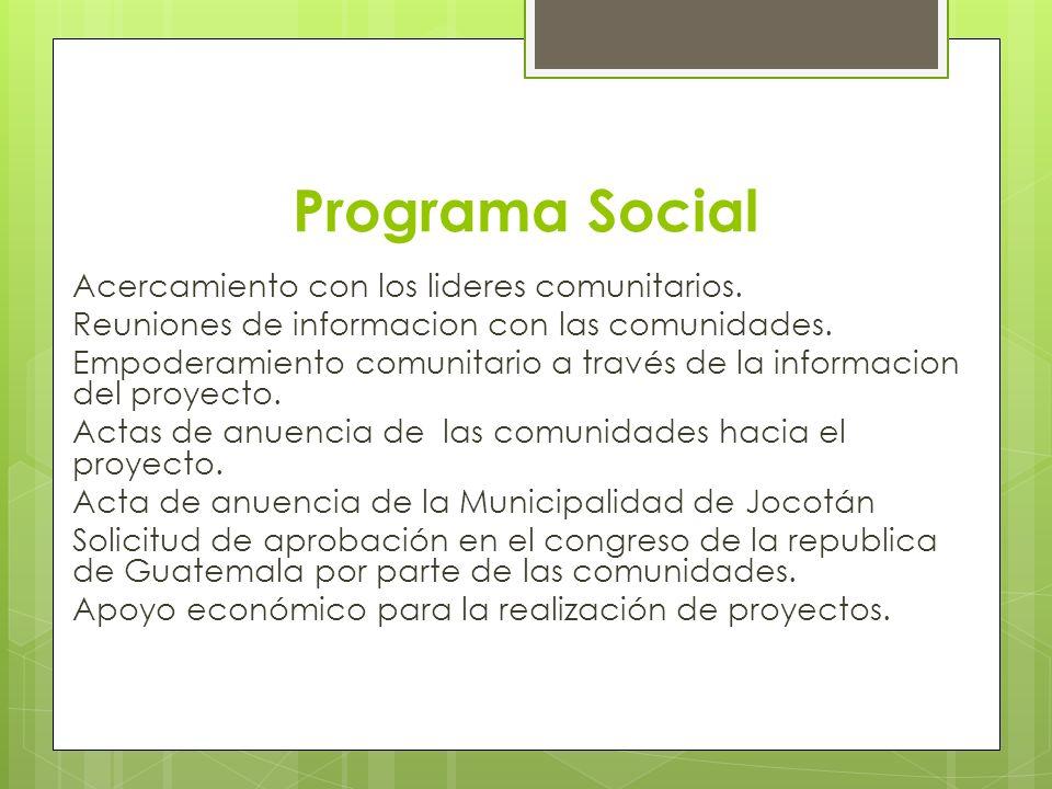 Programa Social