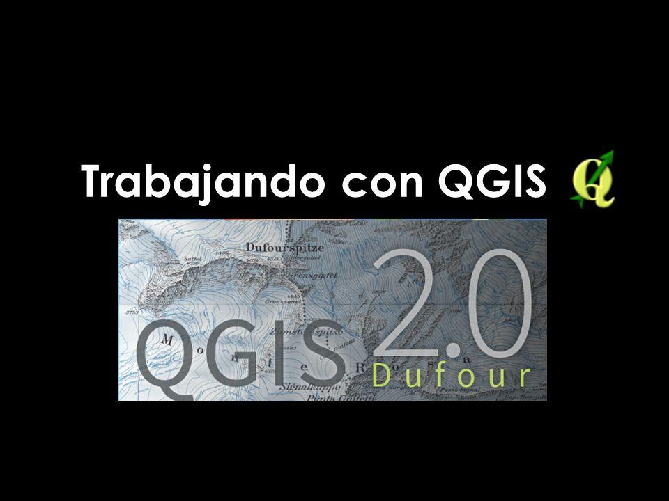 Trabajando con QGIS
