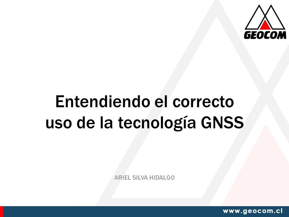 Entendiendo el correcto uso de la tecnología GNSS