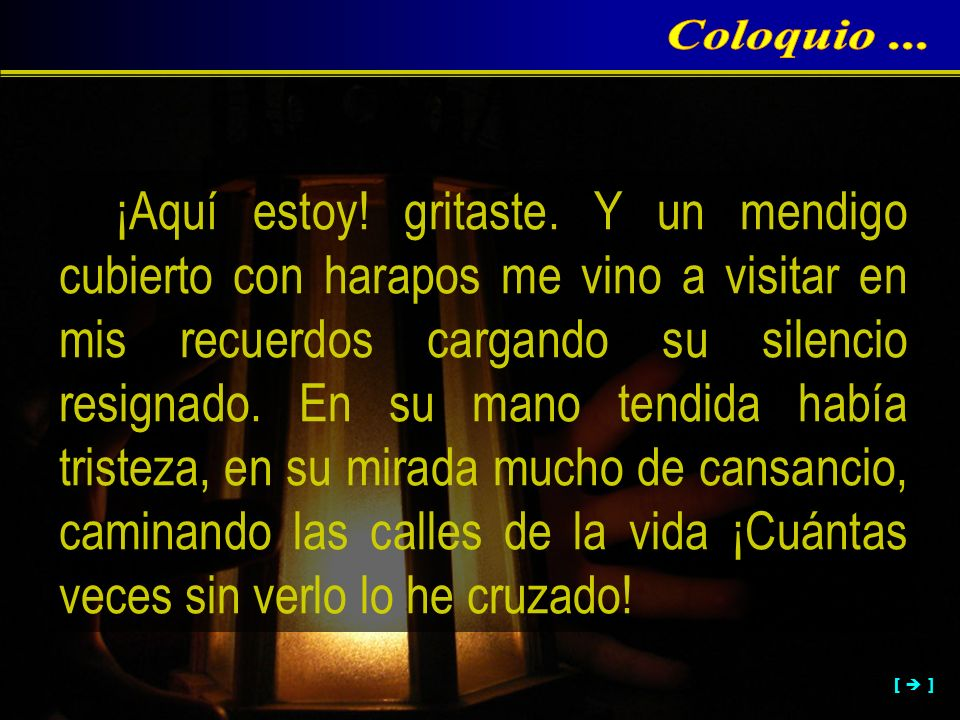 Coloquio ...