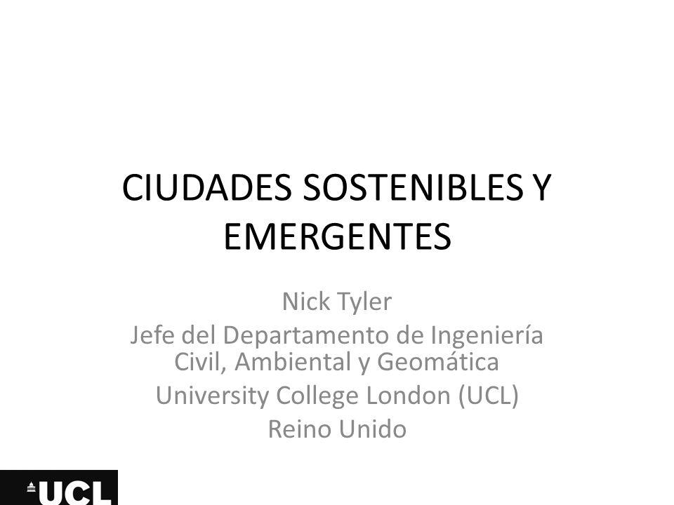 Ciudades sostenibles y emergentes
