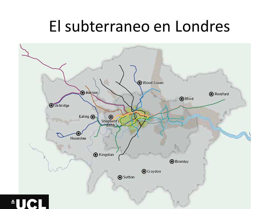 El subterraneo en Londres