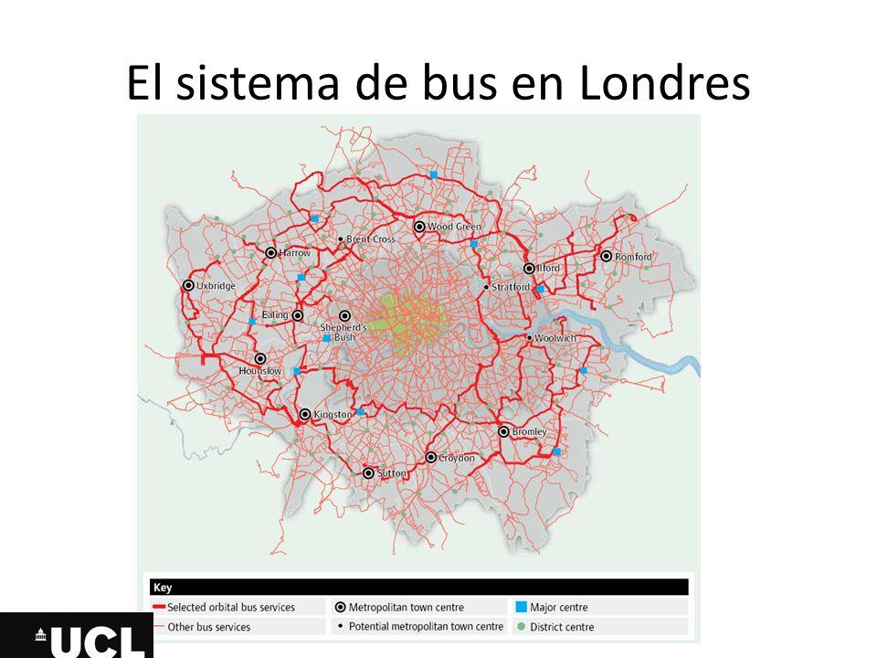 El sistema de bus en Londres
