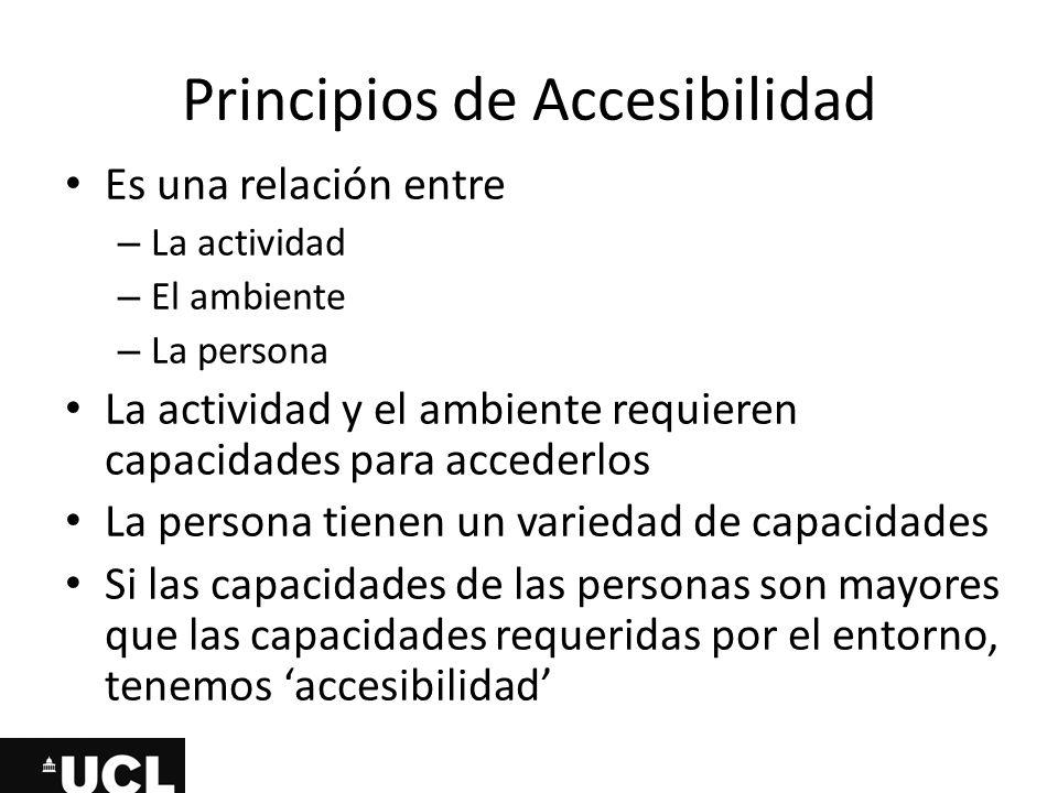 Principios de Accesibilidad