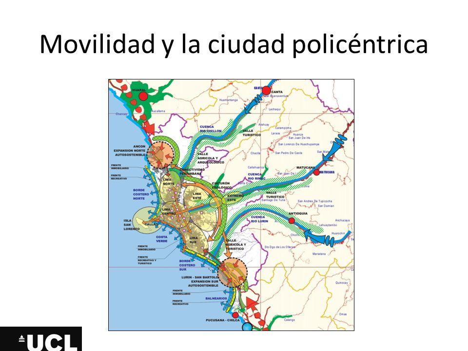 Movilidad y la ciudad policéntrica