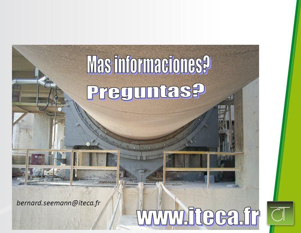 Mas informaciones Preguntas bernard.seemann@iteca.fr www.iteca.fr