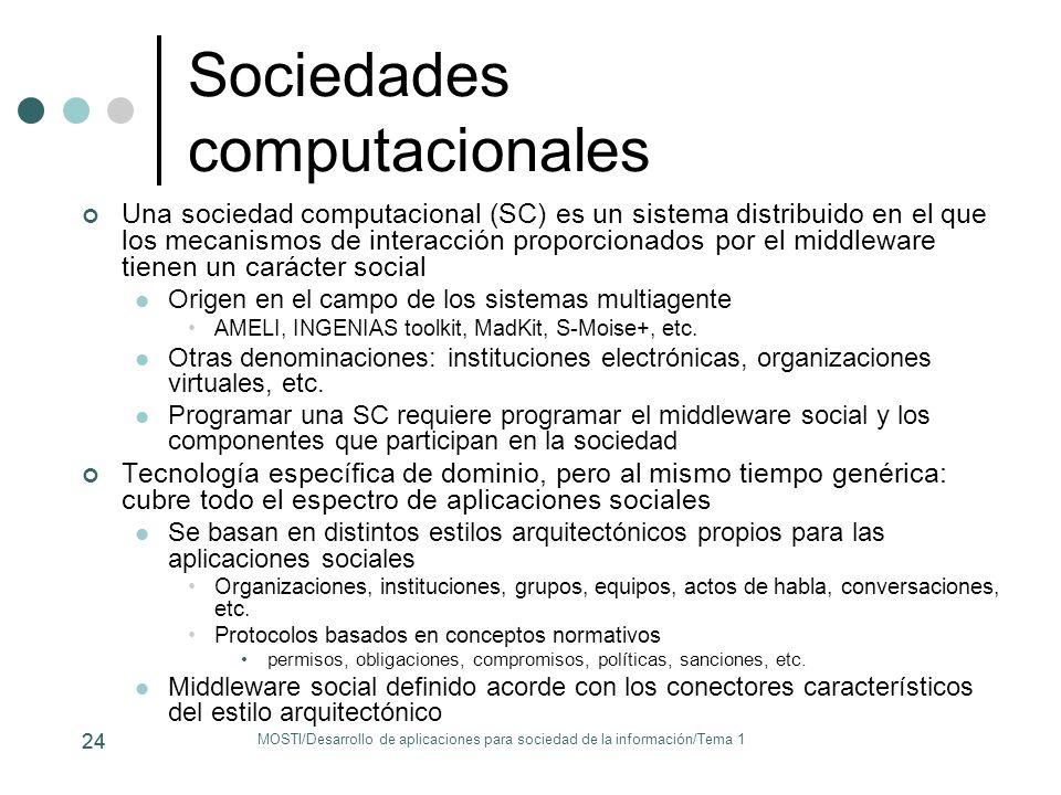 Sociedades computacionales