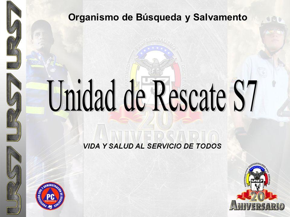 Unidad de Rescate S7 Organismo de Búsqueda y Salvamento