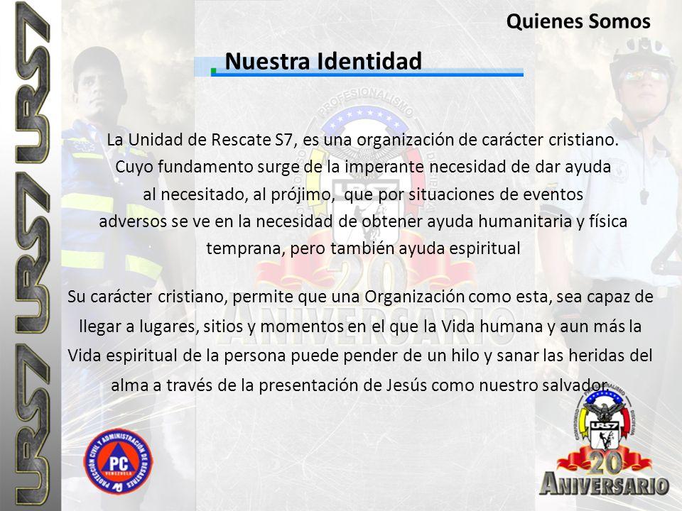 Nuestra Identidad Quienes Somos
