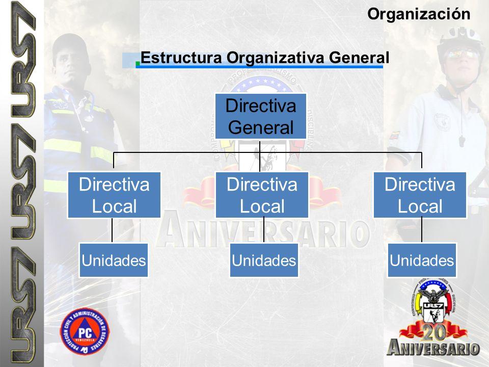 Estructura Organizativa General