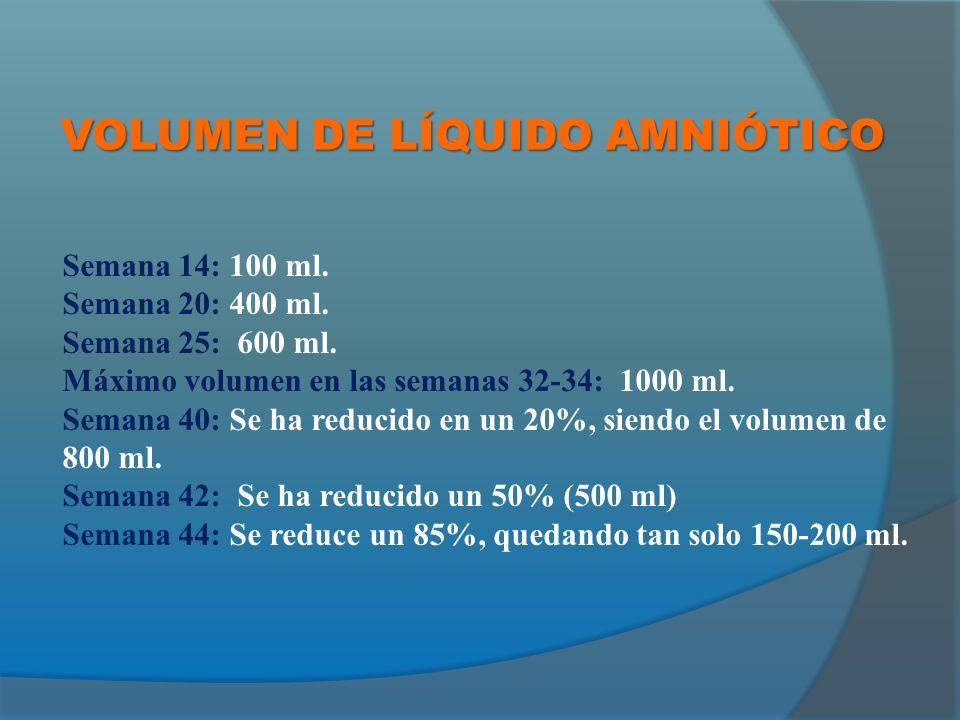 VOLUMEN DE LÍQUIDO AMNIÓTICO