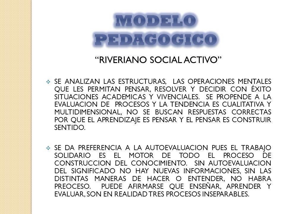 RIVERIANO SOCIAL ACTIVO