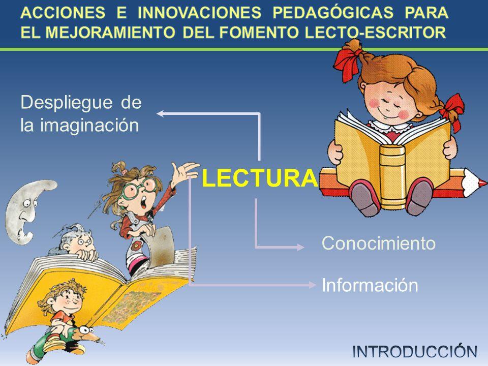 LECTURA Despliegue de la imaginación Conocimiento Información