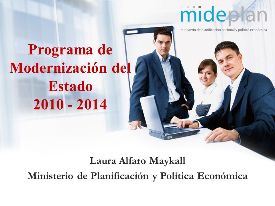 Programa de Modernización del Estado 2010 - 2014