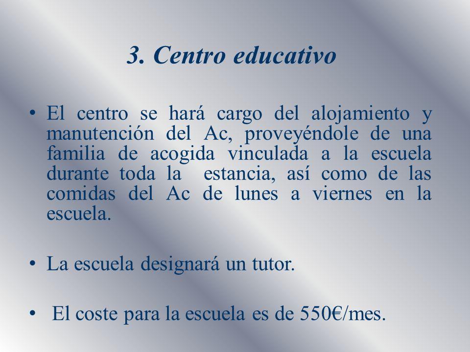 3. Centro educativo
