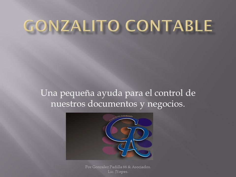 Una pequeña ayuda para el control de nuestros documentos y negocios.