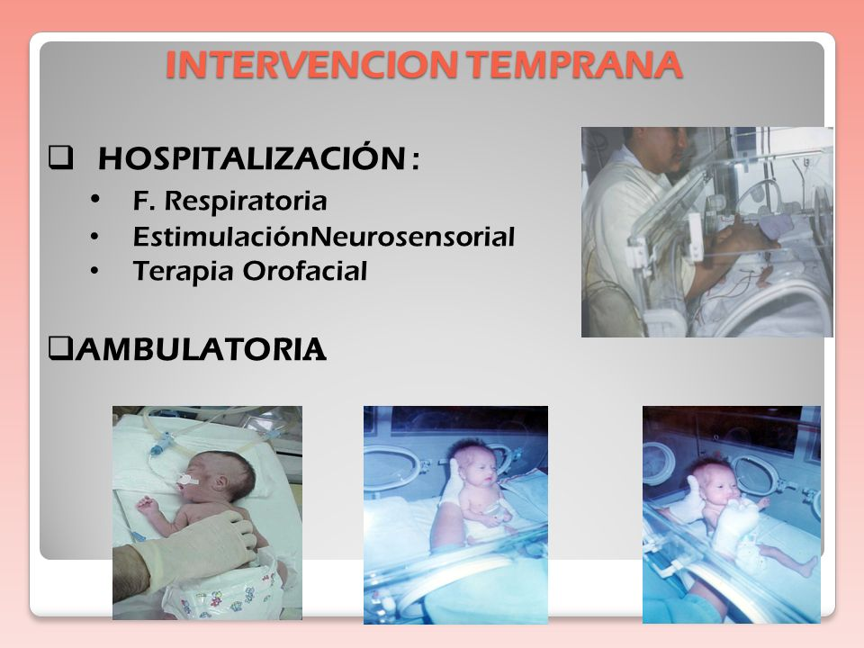 INTERVENCION TEMPRANA