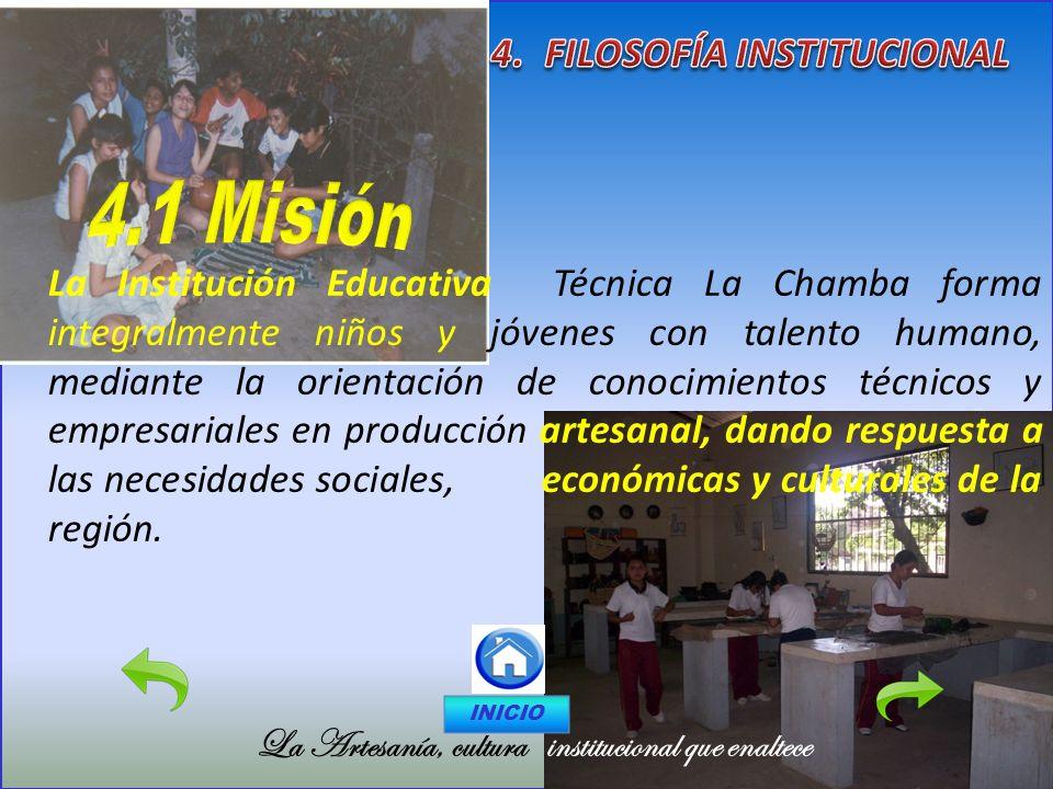 4. FILOSOFÍA INSTITUCIONAL