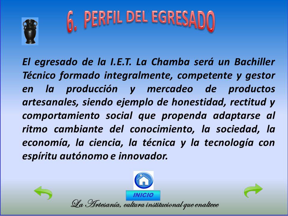 6. PERFIL DEL EGRESADO