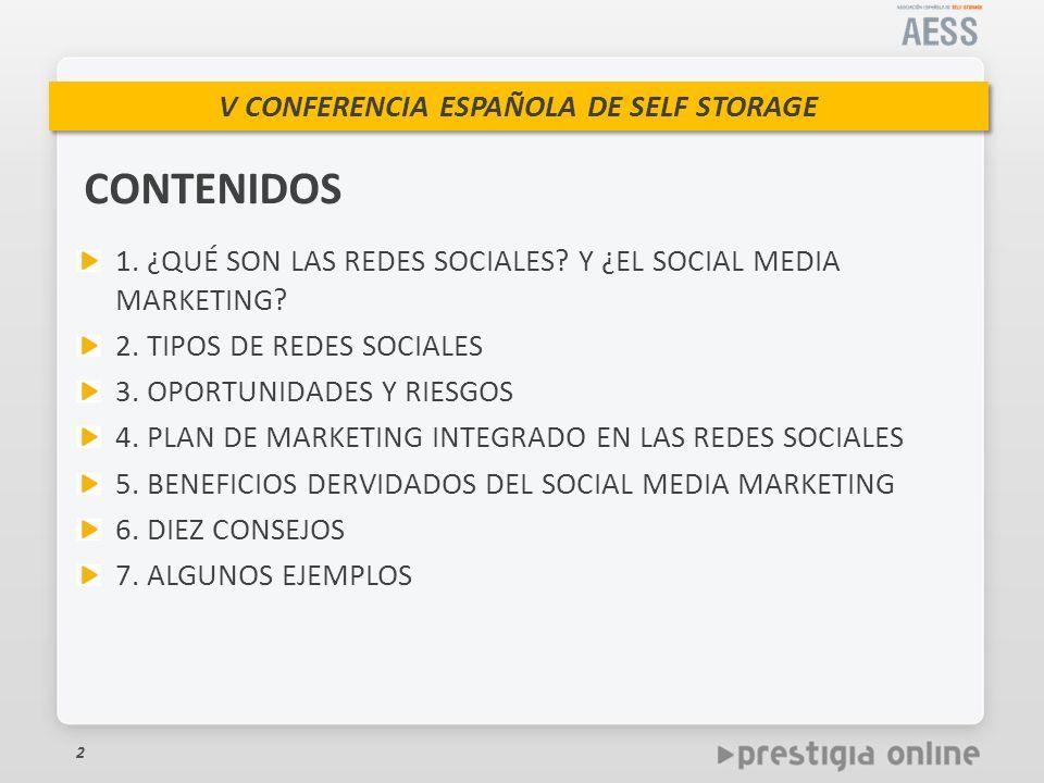 CONTENIDOS 1. ¿QUÉ SON LAS REDES SOCIALES Y ¿EL SOCIAL MEDIA MARKETING 2. TIPOS DE REDES SOCIALES.
