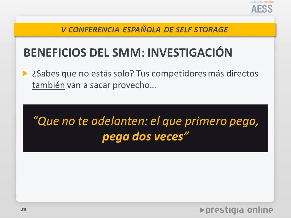 BENEFICIOS DEL SMM: INVESTIGACIÓN