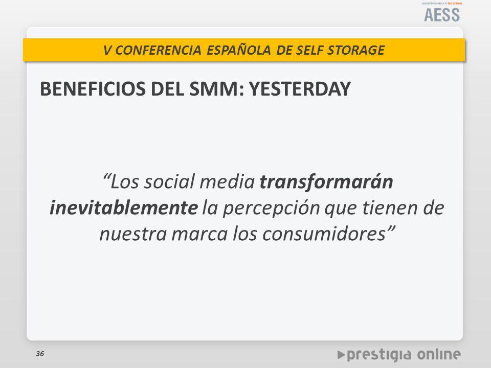 BENEFICIOS DEL SMM: YESTERDAY