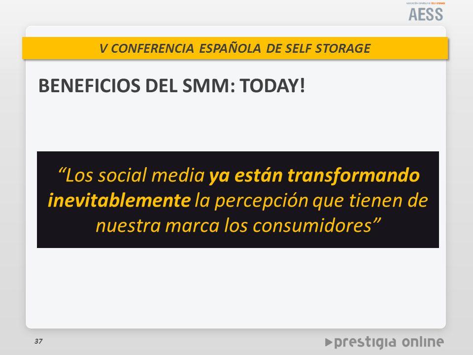 BENEFICIOS DEL SMM: TODAY!