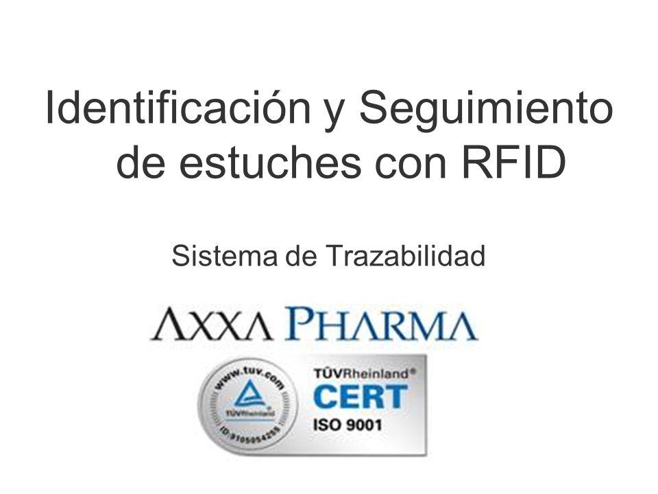 Identificación y Seguimiento de estuches con RFID