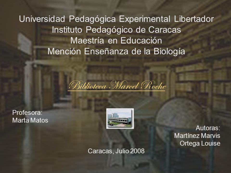 Biblioteca Marcel Roche