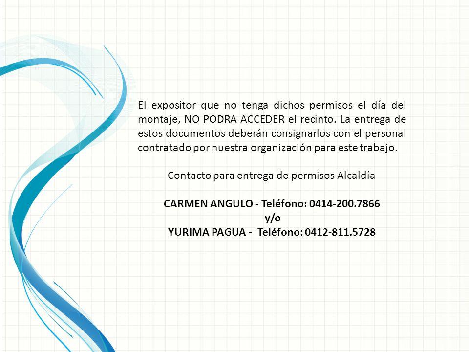 CARMEN ANGULO - Teléfono: 0414-200.7866