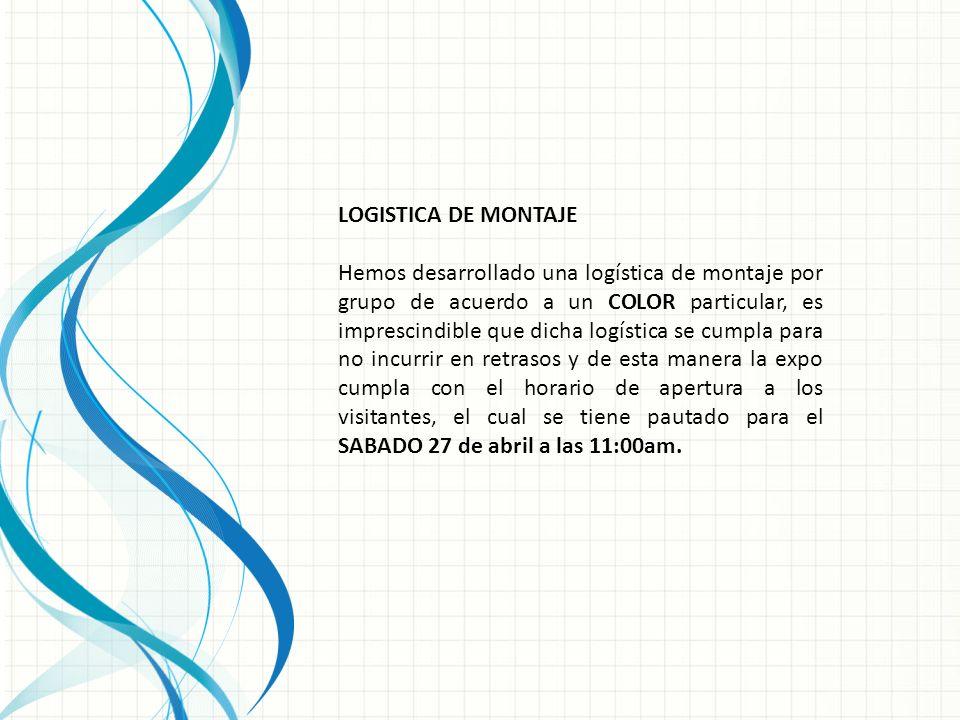 LOGISTICA DE MONTAJE