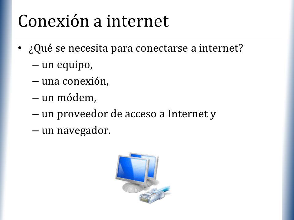 Conexión a internet ¿Qué se necesita para conectarse a internet