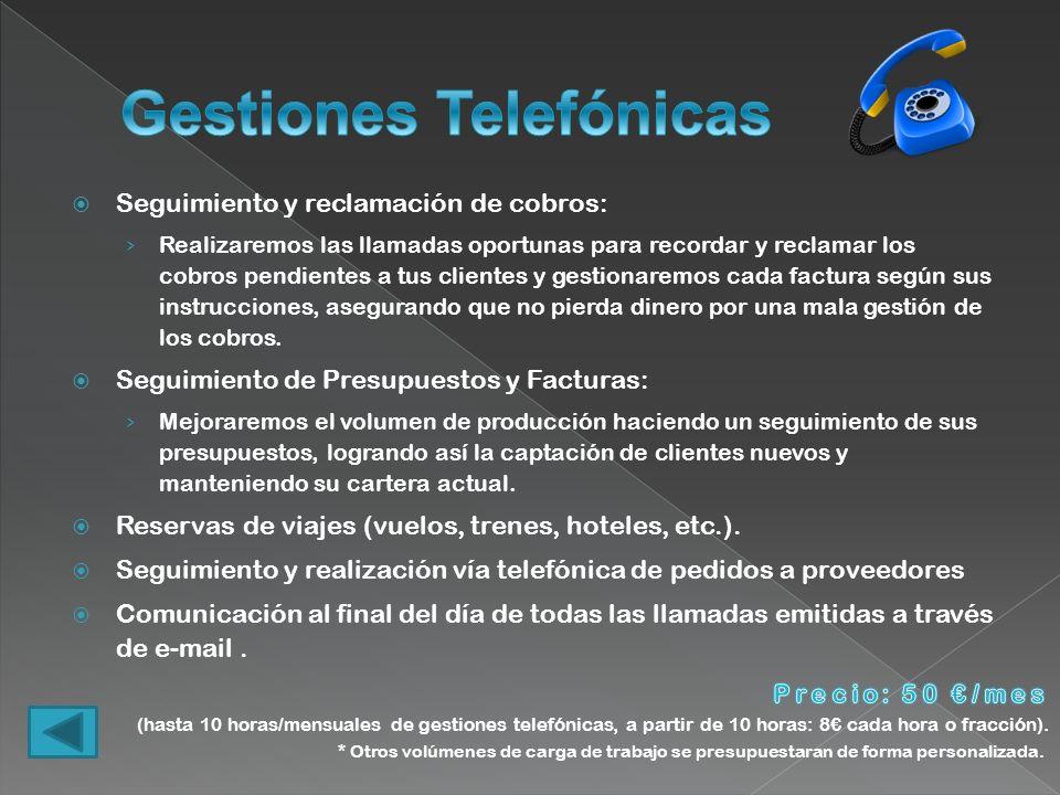 Gestiones Telefónicas