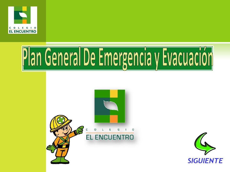 Plan General De Emergencia y Evacuación