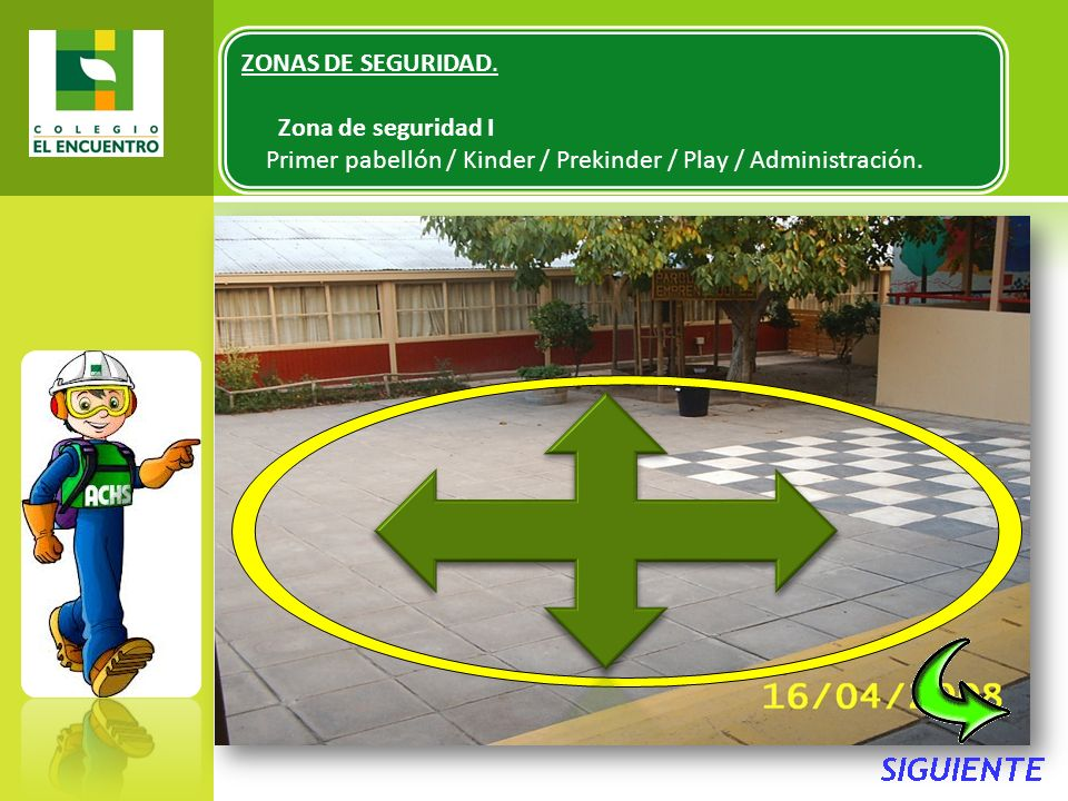 ZONAS DE SEGURIDAD. Zona de seguridad I.