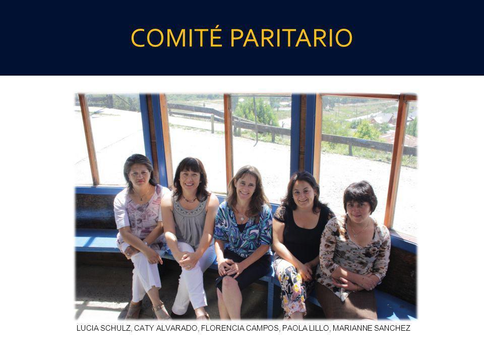 COMITÉ PARITARIO LUCIA SCHULZ, CATY ALVARADO, FLORENCIA CAMPOS, PAOLA LILLO, MARIANNE SANCHEZ