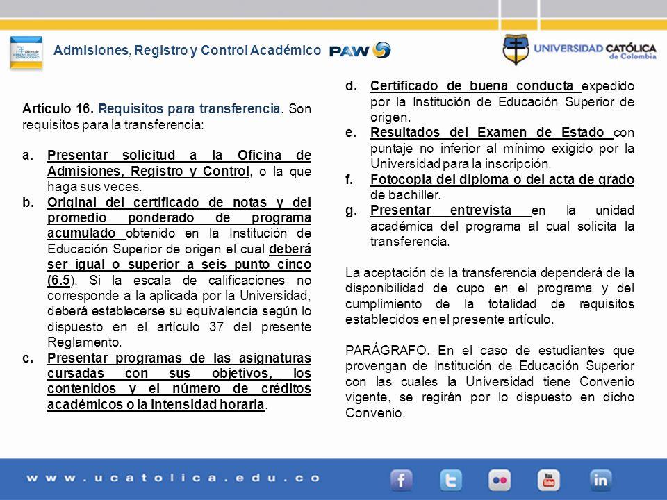 Certificado de buena conducta expedido por la Institución de Educación Superior de origen.